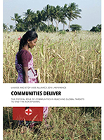 Communities Deliver: the Critical Role of Communities in Reaching Global Targets to End the AIDS Epidemic
