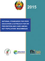 National Standards for Peer Education and Outreach for HIV Prevention and Care among Key Populations: Mozambique
