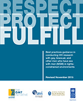 Respect, Protect, Fulfill: MSM Research Guidance 2015