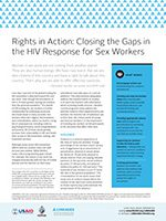 Rights in Action: Closing the Gaps in the HIV Response for Sex Workers